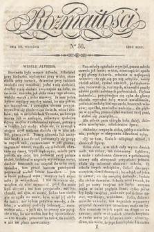 Rozmaitości : pismo dodatkowe do Gazety Lwowskiej. 1834, nr38