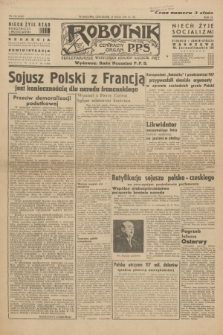 Robotnik : centralny organ P.P.S. R.53, nr 130 (15 maja 1947) = nr 919 [wyd. B]