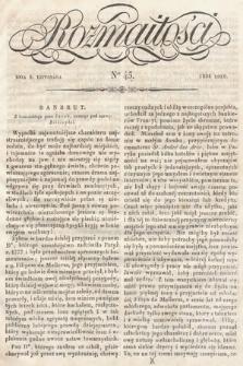 Rozmaitości : pismo dodatkowe do Gazety Lwowskiej. 1834, nr45