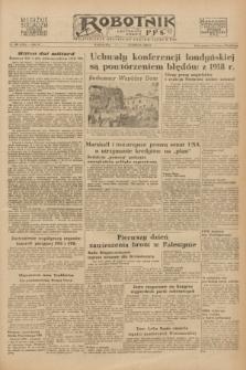 Robotnik : centralny organ P.P.S. R.54, nr 160 ([13] czerwca 1948) = nr 1303 [wyd. A]