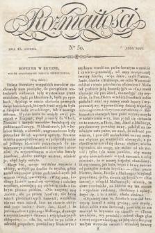 Rozmaitości : pismo dodatkowe do Gazety Lwowskiej. 1834, nr50