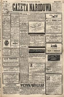 Gazeta Narodowa. 1883, nr71