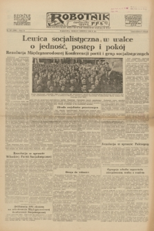 Robotnik : centralny organ P.P.S. R.54, nr 157 (9 czerwca 1948) = nr 1300 [wyd. B]