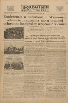 Robotnik : centralny organ P.P.S. R.54, nr 173 (25 czerwca 1948) = nr 1316 [wyd. B]