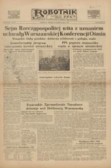 Robotnik : centralny organ P.P.S. R.54, nr 175 (27 czerwca 1948) = nr 1318 [wyd. B]