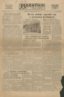 Robotnik : centralny organ P.P.S. R.54, nr 179 (1 lipca 1948) = nr 1322 [wyd. B]