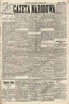 Gazeta Narodowa. 1883, nr81