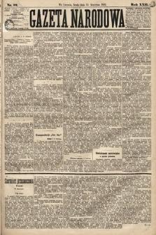 Gazeta Narodowa. 1883, nr87