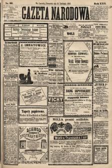Gazeta Narodowa. 1883, nr88