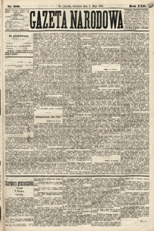 Gazeta Narodowa. 1883, nr100
