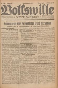Volkswille : Zentralorgan der Deutschen Sozialistischen Arbeitspartei Polens. Jg.12, Nr. 226 (2 Oktober 1927) + dod.