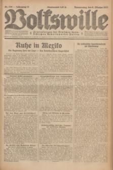 Volkswille : Zentralorgan der Deutschen Sozialistischen Arbeitspartei Polens. Jg.12, Nr. 229 (6 Oktober 1927) + dod.