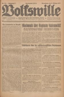 Volkswille : Zentralorgan der Deutschen Sozialistischen Arbeitspartei Polens. Jg.12, Nr. 231 (8 Oktober 1927) + dod.