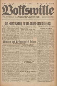 Volkswille : Zentralorgan der Deutschen Sozialistischen Arbeitspartei Polens. Jg.12, Nr. 280 (6 December 1927) + dod.