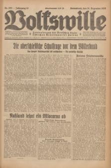 Volkswille : Zentralorgan der Deutschen Sozialistischen Arbeitspartei Polens. Jg.12, Nr. 283 (10 Dezember 1927) + dod.