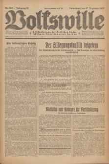 Volkswille : Zentralorgan der Deutschen Sozialistischen Arbeitspartei Polens. Jg.12, Nr. 289 (17 Dezember 1927) + dod.