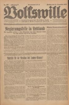 Volkswille : Zentralorgan der Deutschen Sozialistischen Arbeitspartei Polens. Jg.12, Nr. 299 (30 Dezember 1927) + dod.