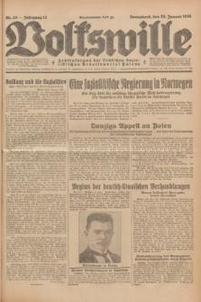 Volkswille : Zentralorgan der Deutschen Sozialistischen Arbeitspartei Polens. Jg.13, Nr. 23 (28 Januar 1928) + dod.