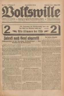 Volkswille : Zentralorgan der Deutschen Sozialistischen Arbeitspartei Polens. Jg.13, Nr. 53 (4 März 1928) + dod.