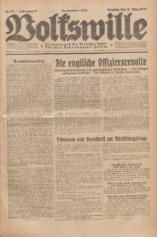 Volkswille : Zentralorgan der Deutschen Sozialistischen Arbeitspartei Polens. Jg.13, Nr. 65 (18 März 1928) + dod.