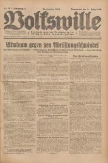 Volkswille : Zentralorgan der Deutschen Sozialistischen Arbeitspartei Polens. Jg.13, Nr. 70 (24 März 1928) + dod.