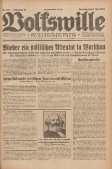 Volkswille : Zentralorgan der Deutschen Sozialistischen Arbeitspartei Polens. Jg.13, Nr. 104 (6 Mai 1928) + dod.