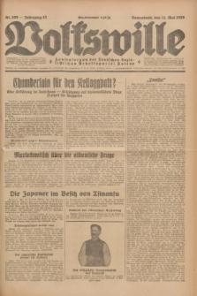 Volkswille : Zentralorgan der Deutschen Sozialistischen Arbeitspartei Polens. Jg.13, Nr. 109 (12 Mai 1928) + dod.