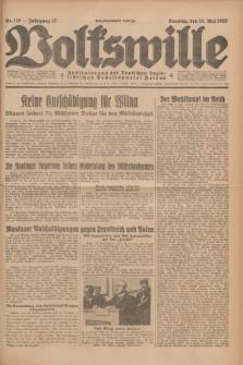 Volkswille : Zentralorgan der Deutschen Sozialistischen Arbeitspartei Polens. Jg.13, Nr. 110 (13 Mai 1928) + dod.