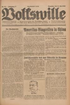 Volkswille : Zentralorgan der Deutschen Sozialistischen Arbeitspartei Polens. Jg.13, Nr. 111 (15 Mai 1928) + dod.