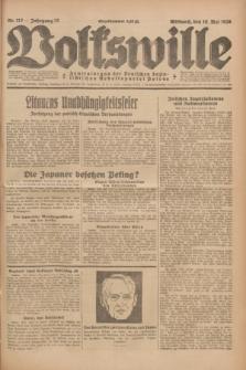 Volkswille : Zentralorgan der Deutschen Sozialistischen Arbeitspartei Polens. Jg.13, Nr. 112 (16 Mai 1928) + dod.
