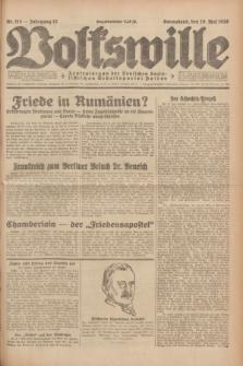 Volkswille : Zentralorgan der Deutschen Sozialistischen Arbeitspartei Polens. Jg.13, Nr. 114 (19 Mai 1928) + dod.