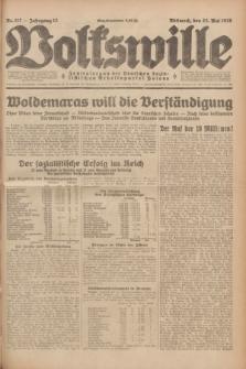 Volkswille : Zentralorgan der Deutschen Sozialistischen Arbeitspartei Polens. Jg.13, Nr. 117 (23 Mai 1928) + dod.