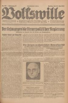 Volkswille : Zentralorgan der Deutschen Sozialistischen Arbeitspartei Polens. Jg.13, Nr. 119 (25 Mai 1928) + dod.