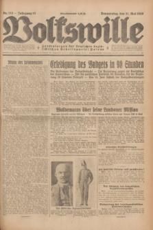 Volkswille : Zentralorgan der Deutschen Sozialistischen Arbeitspartei Polens. Jg.13, Nr. 123 (31 Mai 1928) + dod.
