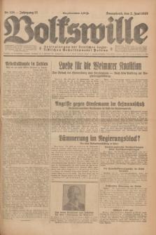 Volkswille : Zentralorgan der Deutschen Sozialistischen Arbeitspartei Polens. Jg.13, Nr. 125 (2 Juni 1928) + dod.