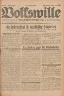 Volkswille : Zentralorgan der Deutschen Sozialistischen Arbeitspartei Polens. Jg.13, Nr. 129 (7 Juni 1928) + dod.