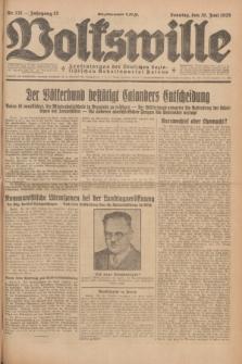 Volkswille : Zentralorgan der Deutschen Sozialistischen Arbeitspartei Polens. Jg.13, Nr. 131 (10 Juni 1928) + dod.