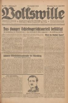 Volkswille : Zentralorgan der Deutschen Sozialistischen Arbeitspartei Polens. Jg.13, Nr. 132 (12 Juni 1928) + dod.