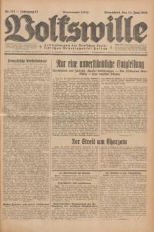 Volkswille : Zentralorgan der Deutschen Sozialistischen Arbeitspartei Polens. Jg.13, Nr. 142 (23 Juni1928) + dod.