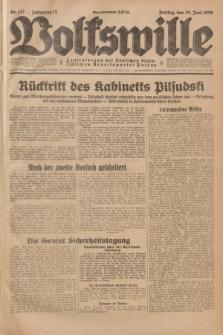 Volkswille : Zentralorgan der Deutschen Sozialistischen Arbeitspartei Polens. Jg.13, Nr. 147 (29 Juni 1928) + dod.