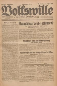 Volkswille : Zentralorgan der Deutschen Sozialistischen Arbeitspartei Polens. Jg.13, Nr. 151 (5 Juli 1928) + dod.