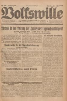 Volkswille : Zentralorgan der Deutschen Sozialistischen Arbeitspartei Polens. Jg.13, Nr. 154 (8 Juli 1928) + dod.
