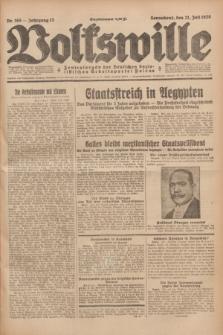 Volkswille : Zentralorgan der Deutschen Sozialistischen Arbeitspartei Polens. Jg.13, Nr. 165 (21 Juli 1928) + dod.