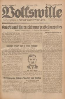Volkswille : Zentralorgan der Deutschen Sozialistischen Arbeitspartei Polens. Jg.13, Nr. 166 (22 Juli 1928) + dod.