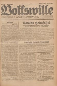 Volkswille : Zentralorgan der Deutschen Sozialistischen Arbeitspartei Polens. Jg.13, Nr. 168 (25 Juli 1928) + dod.