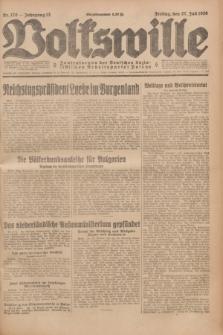 Volkswille : Zentralorgan der Deutschen Sozialistischen Arbeitspartei Polens. Jg.13, Nr. 170 (27 Juli 1928) + dod.