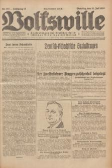 Volkswille : Zentralorgan der Deutschen Sozialistischen Arbeitspartei Polens. Jg.13, Nr. 173 (31 Juli 1928) + dod.