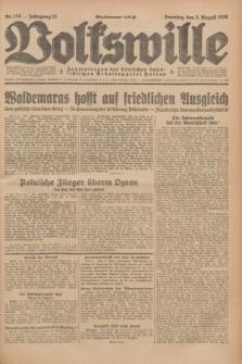 Volkswille : Zentralorgan der Deutschen Sozialistischen Arbeitspartei Polens. Jg.13, Nr. 178 (5 August 1928) + dod.