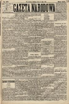 Gazeta Narodowa. 1883, nr118