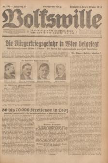 Volkswille : Zentralorgan der Deutschen Sozialistischen Arbeitspartei Polens. Jg.13, Nr. 230 (6 Oktober 1928) + dod.
